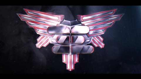 Epic Steel Wings After Effects Template