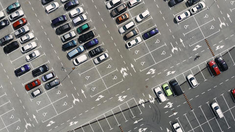A parking from above GIF