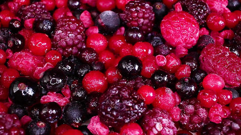 Frozen mixed berry berries blueberry mulberry raspberry Live Action