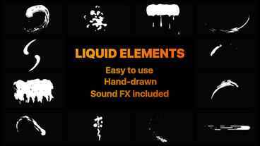 Liquid Motion Shapes After Effectsテンプレート