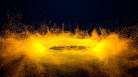 Epic Beautiful Particles Whirlpool Background Animation
