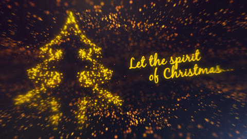 Golden Christmas After Effects Template