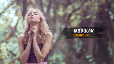 Smooth Ink Slideshow Premiere Pro Template