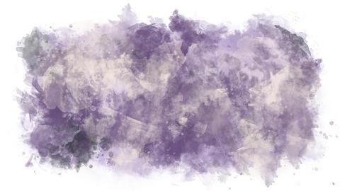 Violet milk watercolor background Animation
