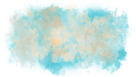 Background consisting of watercolor blots Animation