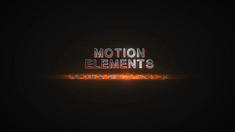 Steel Logo After Effects Template