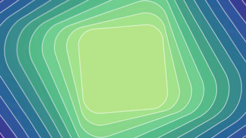 Abstract video background with rhombus in tunnel motion, blend effect, seamless Animation