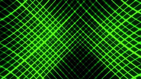 Green Flashing Grid Abstract VJ Loop Background Animation