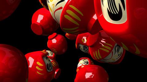 Red Daruma Dolls 0