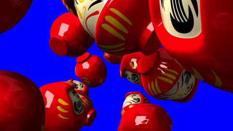 Red Daruma Dolls 2
