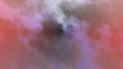 Abstract background purple clouds Animación