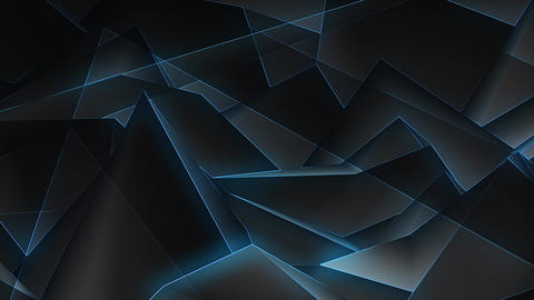 Glowing Lines Background Loop 4K Stock Video Footage