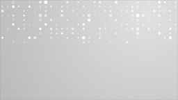 Shiny sparkling grey dotted circles video animation Animation