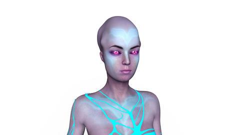 Alien Woman Animation
