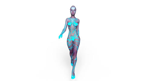 Alien Woman Animation