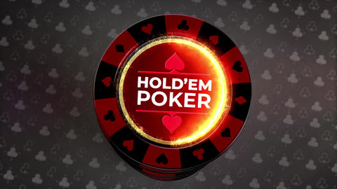 Gambling Chips Logo Reveals Premiere Pro Template