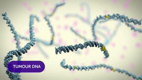 tumor infected dna Stock Video Footage
