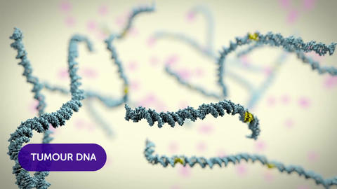 tumor infected dna Animation