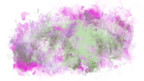 Background pattern of paint splashes Animation