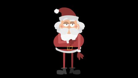 Santa Claus Animation Element 12 - points right 애니메이션