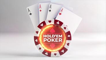 Poker Logo reveals intro Premiere Proテンプレート