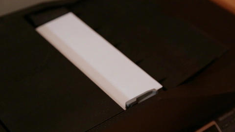 Paper Is Fed Through A Copy Machine Footage