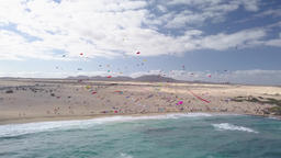 thirty-first international kite festival, fuerteventura 2018-11-10 Footage