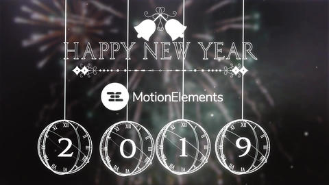 New Year Countdown After Effects Template
