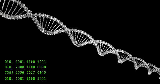 Analyzing DNA structure, forensic research, genes genetic disorders, science Footage