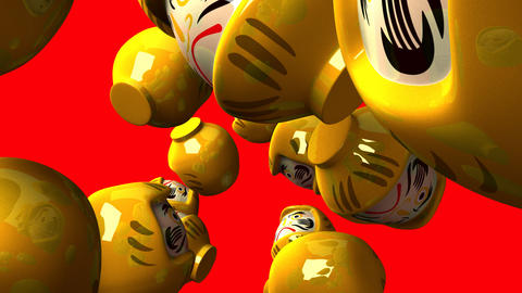 Yellow Daruma Dolls 0