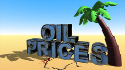 Oil Prices Fell stock footage