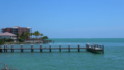 The beautiful scenery of the Florida Keys Live Action