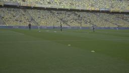Football On Olimpiyskiy Before Game 3840-2160