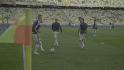 Football On Olimpiyskiy Before Game 3840-2160 0