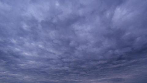 Bad weather dark sky timelapse Footage