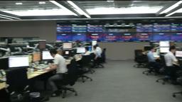 INSIDE KOREA EXCHANGE BANK ASIAN STOCKS COMPUTERS AND INVESTORS Footage
