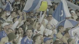 Football On Olimpiyskiy Fans Slow Motion 0