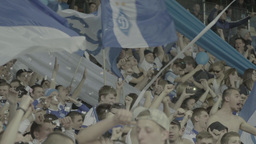 Football On Olimpiyskiy Fans Slow Motion 1