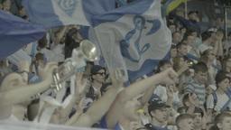 Football On Olimpiyskiy Fans Slow Motion 2