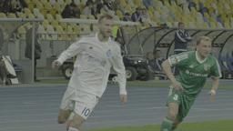 Football On Olimpiyskiy Slow Motion