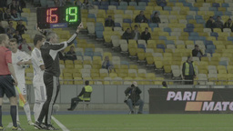 Football On Olimpiyskiy Slow Motion 1