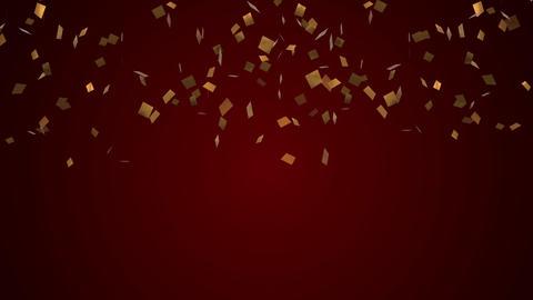 Confetti gold Festive party cracker GIF