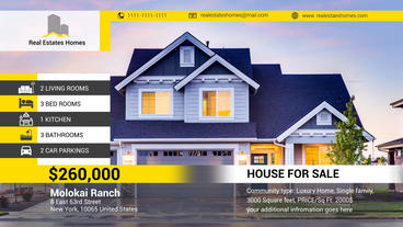Real Estates Presentaion After Effects Template
