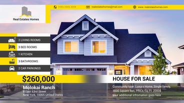 Real Estates Presentaion Plantilla de After Effects