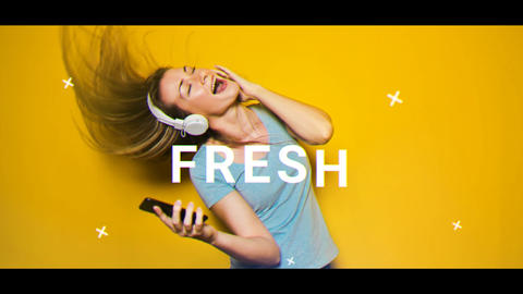 Fresh Opener After Effects Template