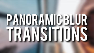 Panoramic Transitions Premiere Pro Template