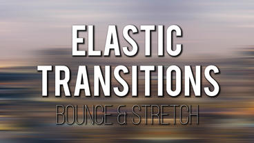 Stretch & Bounce Transitions Premiere Pro Template