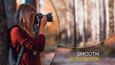 Smooth Circle Elegant - Slideshow After Effects Template