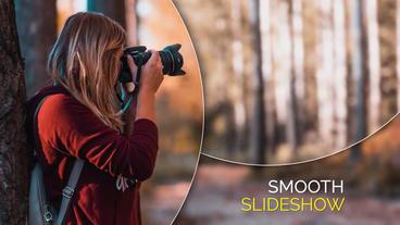 Smooth Circle Elegant - Slideshow Plantilla de After Effects