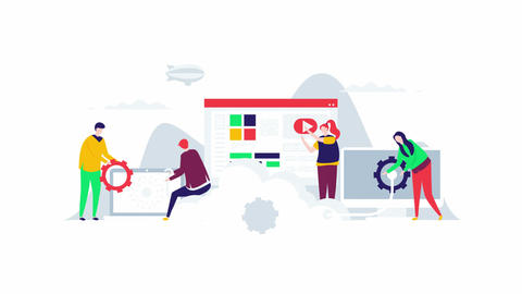 Cloud Computing - SVG Animation For Web